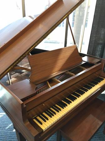 Howard Mahogany Grand Piano