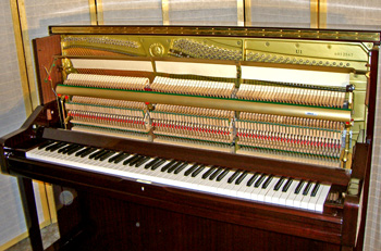 Yamaha u1 mahogany upright piano atlanta used pianos for Yamaha u1 professional upright piano