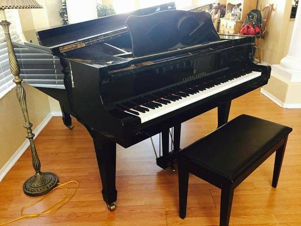 Young Chang G185 Grand Piano Left